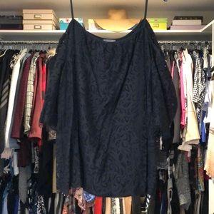 Vince Camuto black blouse.